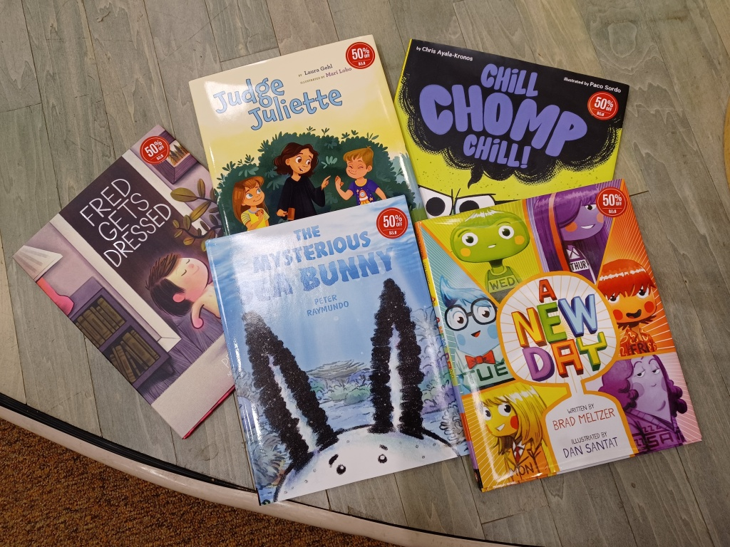 5 Picture books for review this month